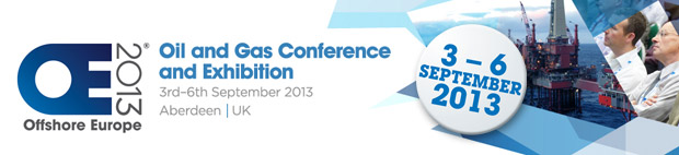 The logo of Offshore Europe 2013