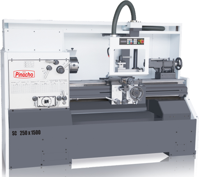 Pinacho SC-250 manual lathe