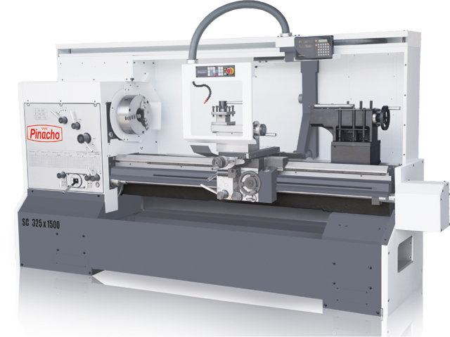 The Pinacho SC-325 manual lathe