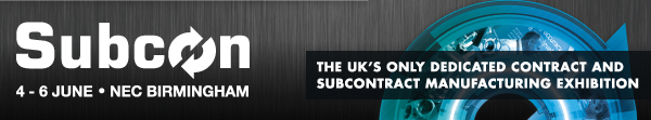 The logo of Subcon, the UK's subcontracting, advanced manufacturing and technology exhibition