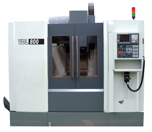A DMTG CNC machining centre