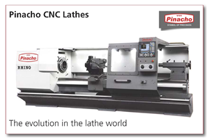 See our range of Pinacho CNC lathes
